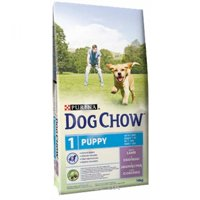 Фото Dog Chow Puppy для щенков с ягненком 14 кг