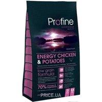 Фото Profine Adult Energy Chicken & Potatoes 15 кг