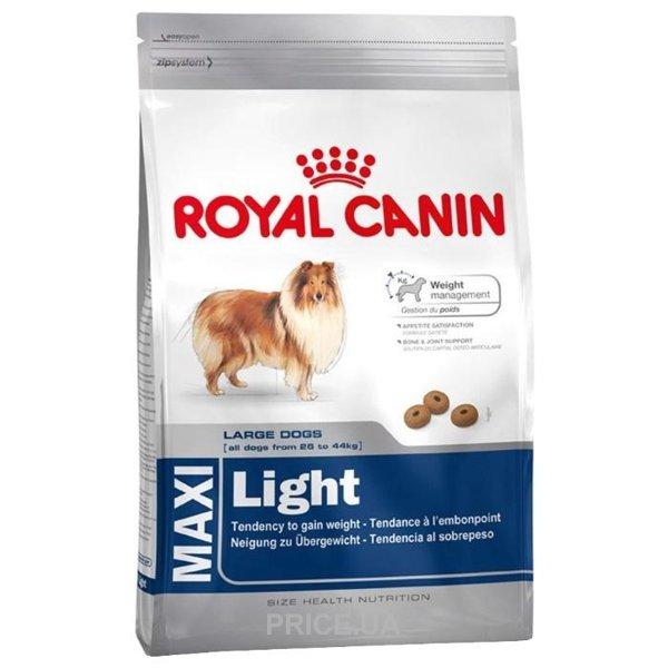 Maxi light корм royal canin
