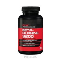 Фото GNC Pro Performance Beta-Alanine 3200 120 tabs