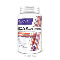Фото OstroVit BCAA + Glutamine 200g (20 servings)