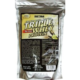 Фото Max Muscle Triple Whey Protein 907 g