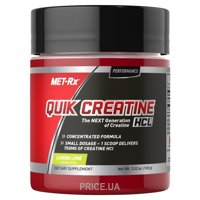 Фото Met-Rx Quik Creatine HCl Powder 100 g