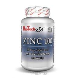 Фото BioTech Zinc 100 100 tabs
