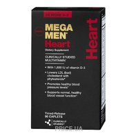 Фото GNC Mega Men Heart 90 caps