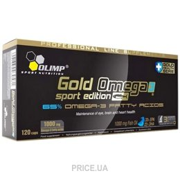 Фото Olimp Labs Gold Omega 3 Sport Edition 120 caps
