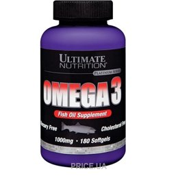 Фото Ultimate Nutrition Omega 3 180 caps