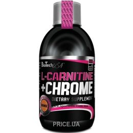 Фото BioTech L-Carnitine+Chrome 500 ml (33 servings)