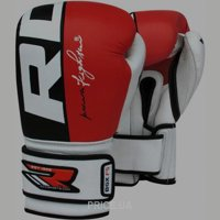 Фото RDX Боксерские перчатки Red Pro