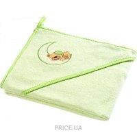 Фото Sensillo Махровое полотенце Медвежонок 100х100 Green (SILLO-4163)