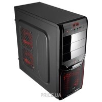 Фото Aerocool V3X Advance Devil Red Edition Black