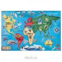 Фото Melissa&Doug Карта Мира World Map Floor (MD10446)