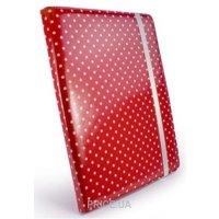 Фото Tuff-Luv Slim-Stand для iPad 2/3 Polka-Hot Red (B10_35)