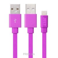 Фото JUST Freedom Lighting USB Cable Pink (LGTNG-FRDM-PNK)