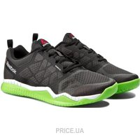 Фото Reebok Zprint Train V68201 Coal/Black/Green/White