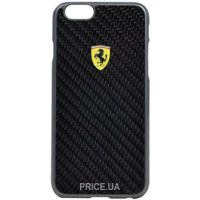 Фото Ferrari Scuderia Carbon Case iPhone 6/6s Black (FESCCBHCP6BL)