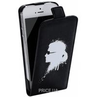 Фото Karl Lagerfeld Graffiti для iPhone 4/4S Black (KLFLP4GBL)