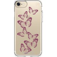 Фото Speck Presidio for iPhone 7 Clear With Graphics Brilliantbutterflies Rose Gold Clear (SP-79991-5947)
