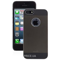 Фото Moshi iGlaze Armour Metal Case Black for iPhone 5/5S (99MO061002)