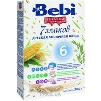 Фото Bebi Premium Каша молочная 7 злаков, 200 г