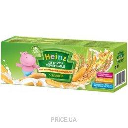 Фото Heinz Детское печенье 6 злаков, с 6 мес. 180 г