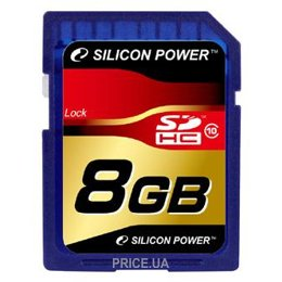 Silicon Power SP008GBSDH010V10