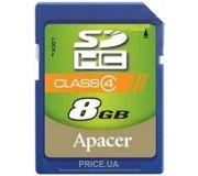 Фото Apacer SDHC 8Gb Class 4