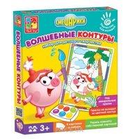 Фото Vladi Toys Волшебные контуры Смешарики (VT4402-24)