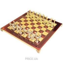 Фото Manopoulos Шахматы Титаны в деревянном футляре (красные) (S6RED)