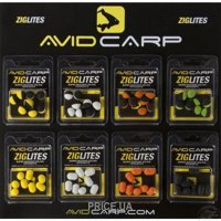 Фото Avid Carp Бойлы ZigLites (Black/Green) 10mm 8pcs