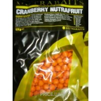 Фото Nutrabaits Бойлы Cranberry Nutrafruit 10mm 400g