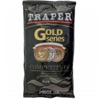 Фото Traper Прикормка Gold Series «Competition Black» 1.0kg