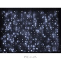 Фото Delux Curtain 912 LED 2х3m белый/белый IP44 (10008252)