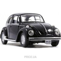 Фото Cararama VW Beetle (251PND-10590)
