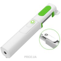 Фото iOttie MiGo Mini Selfie Stick, Pole White (HLMPIO120WH)