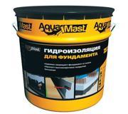 Цены на Aquamast Мастика битумная Aquamast 10 кг Вес - 10 , фото