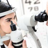 Фото Біомікроскопія очного дна