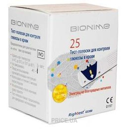 Bionime GS300 Rightest 25 шт