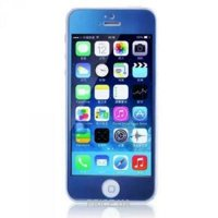 Фото Remax Tempered Glass Colorful Blue Apple iPhone 5S/5/5C 0.2mm
