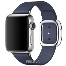 Фото Apple Midnight Blue Modern Buckle Large для Watch 38mm MJ5D2