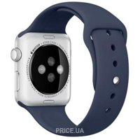 Фото Apple Midnight Blue Sport Band для Watch 42mm MLL02