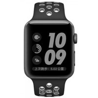 Фото Coteetci W12 Nike Band Black/Cool Gray (WH5216-BK-GY) for Apple Watch 38mm