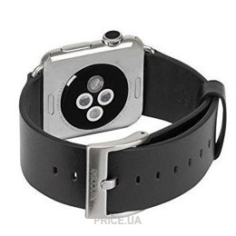 Фото Incase Leather Band Apple Watch 38mm - Black (INAW10010-BLK)
