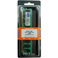 Фото GoodRam 2GB DDR2 800MHz (GR800D264L6/2G)