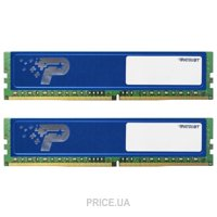 Фото Patriot 16GB (2x8GB) DDR4 2400MHz (PSD416G2400KH)