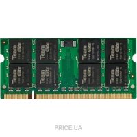 Фото TEAM 1GB SO-DIMM DDR2 800MHz (TED21G800C5-S01)