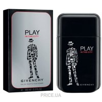 Фото Givenchy Play in the City for Him EDT