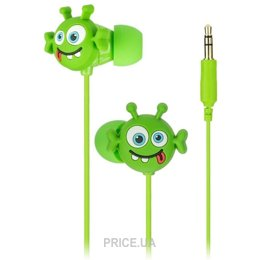 Наушник Наушники KitSound Doodles In-Ear Alien (DDALIBUD)