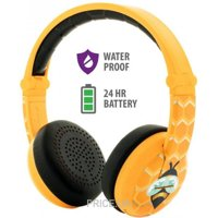 BuddyPhones Wave Bee, Yellow (BT-BP-WV-BEE)