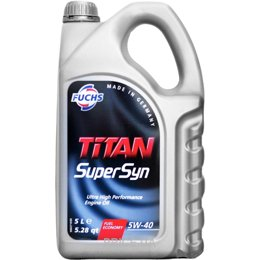 Моторное масло Fuchs Titan Supersyn 5W-40 5л